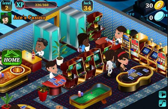 Jeux de casino sur facebook